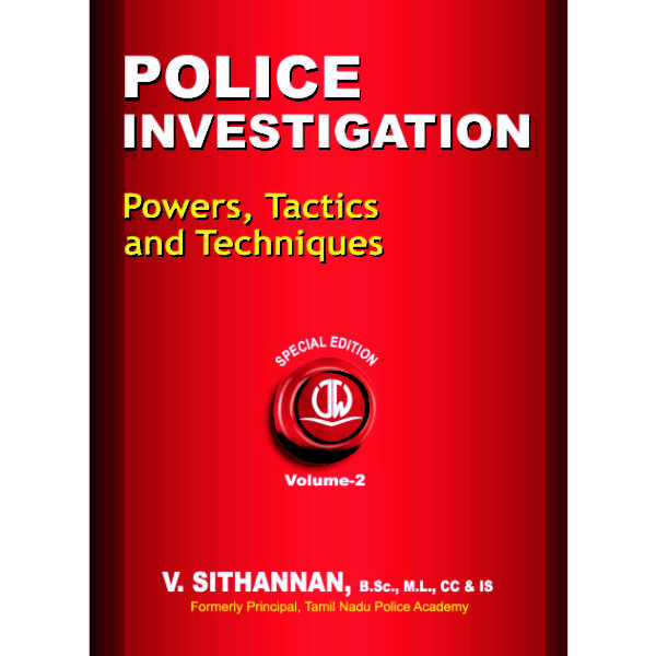 PI Eng Vol 2 600x600 - Police Investigation - Powers, Tactics and Techniques Volume 1 & 2