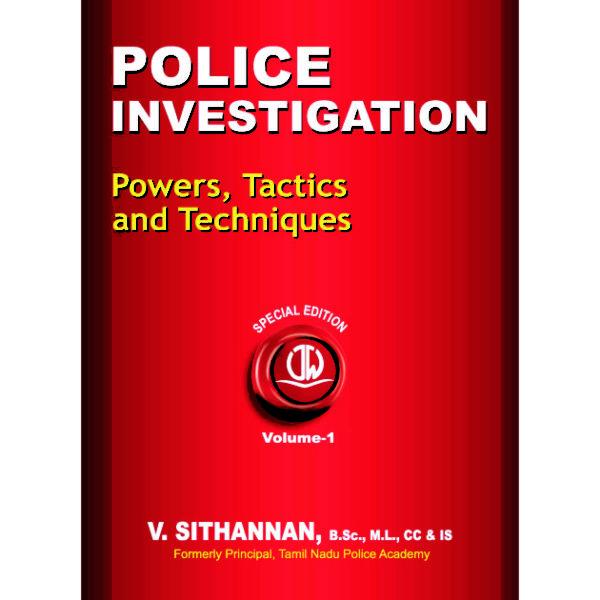 Police Investigation Book